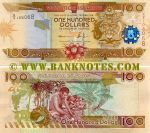Solomon Islands 100 Dollars (2011) UNC