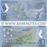 Solomon Islands 40 Dollars 2018 (SI/40 099294) polymer UNC