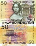 Sweden 50 Kronor 2003 (37604330xx) UNC