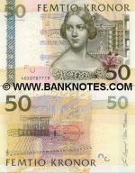 Sweden 50 Kronor 2004 UNC
