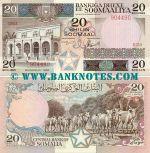 Somalia 20 Shillings 1983 (D059/904481) UNC