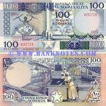 Somalia 100 Shillings 1987 (D074/400726) UNC