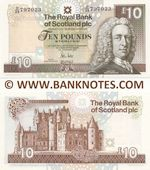 Scotland 10 Pounds 30.11.2010 (D/88 797024) UNC