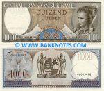 Suriname 1000 Gulden 1.9.1963 (000053179) UNC