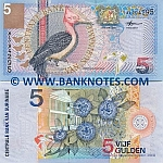 Suriname 5 Gulden 2000 (Replacement # ZZ) UNC