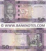 South Sudan 50 Pounds 2019 (AW90679xx) UNC