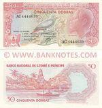 São Tomé e Príncipe 50 Dobras 30.9.1982 (AC44446xx) UNC