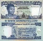 Swaziland 10 Emalangeni 1.4.2006 UNC