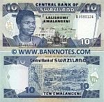 Swaziland 10 Emalangeni 1.4.2006 (BI6801xx) UNC