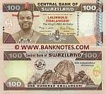 Swaziland 100 Emalangeni 19.4.2008 UNC