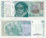 Argentina 1 Austral (1985) (52.274.8xxC) UNC