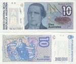 Argentina 10 Australes (1985) (14.816.4xxC) UNC