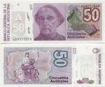 Argentina 50 Australes (1986) (63.xxx.xxxA) UNC