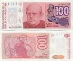 Argentina 100 Australes (1985) (16.765.4xxD) UNC