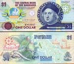 Bahamas 1 Dollar (1992) (B1822xx) UNC