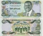 Bahamas 1 Dollar 2001 (DC8712xx) UNC