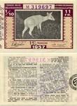 Belgian Congo 11 Francs 1957 (M319697) VF-XF