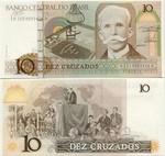 Brazil 10 Cruzados (1986) (A10540934xxA) UNC