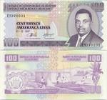 Burundi 100 Francs 2001 (GP2553xx) UNC
