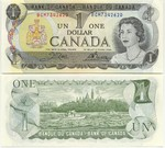 Canada 1 Dollar 1973 (BFA98772xx) UNC
