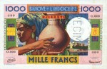 Djibouti 1000 Francs (1946) SPECIMEN UNC
