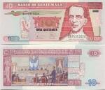 Guatemala 10 Quetzales 2003 (D875353xxA) UNC