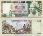 Guinea-Bissau 1000 Pesos 1978 (A/4 7079xx) UNC