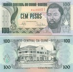 Guinea-Bissau 100 Pesos 1990 (BB1393xx) UNC