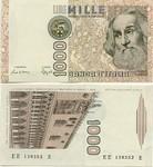 Italy 1000 Lire 1982 (RF 5828xx Q) UNC