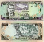 Jamaica 100 Dollars 15.1.2002 (SP5013xx) UNC