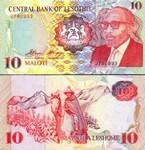 Lesotho 10 Maloti 1990 (B1952xx) UNC