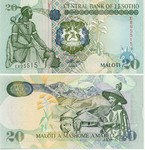 Lesotho 20 Maloti 1994 (C115506) UNC