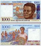 Madagascar 1000 Francs (1994) (A1550698x) UNC