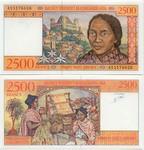Madagascar 2500 Francs (1998) (A065342xx) UNC