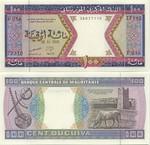 Mauritania 100 Ouguiya 2001 (G017/406728xx) UNC