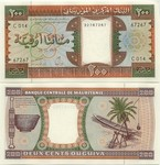 Mauritania 200 Ouguiya 1999 (E014/32911251) UNC