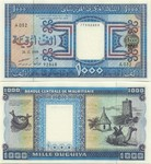 Mauritania 1000 Ouguiya 2001 (E036/87900846) AU+
