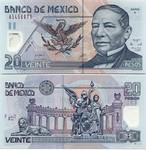 Mexico 20 Pesos 2006 (Y/P18477xx) polymer UNC