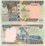 Nigeria 200 Naira 2002 (G/64 800472) UNC