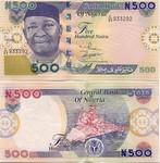 Nigeria 500 Naira 2005 (L/80 65016x) AU-UNC