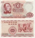 Norway 100 Kroner 1973 (W5996322) UNC