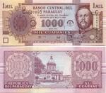 Paraguay 1000 Guaranies 2004 (C080938xx) UNC