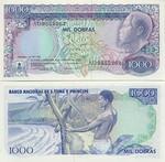 São Tomé e Príncipe 1000 Dobras 1989 (AD9718641) UNC