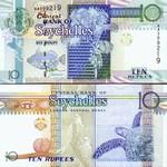 Seychelles 10 Rupees (1998) (AD4288xx) UNC