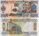 Sierra Leone 2000 Leones 2002 (D658806) UNC
