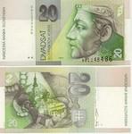 Slovakia 20 Korun 2004 (S463885xx) UNC