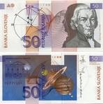 Slovenia 50 Tolarjev 1992 (PE7719xx) UNC