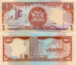 Trinidad & Tobago 1 Dollar 2002 (AH3965xx) UNC