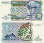 Zaire 5000 Zaïres 1988 UNC
