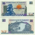 Zimbabwe 20 Dollars 1997 (DJ22495xx) UNC